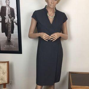 Calvin Klein Wrap Sheath Dress
